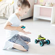 1d5f4638 8323 48ee b13b 380658d3bfcc.  CR0,0,1600,1600 PT0 SX220 V1    - Remote Control Car for Kids 1:14 Scale 2.4GHz RC Cars 4WD All Terrain Off Road Monster Truck 3 Modes Transformation Radio Crawler, Water Cannon, Bubble Machine, for 4-12 Year Old Boys & Girls