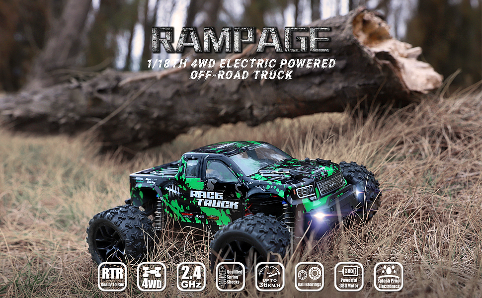 2417f7e3 0978 4032 baa5 899e7491a36a.  CR0,0,970,600 PT0 SX970 V1    - HAIBOXING 1:18 Scale All Terrain RC Car 18859E, 36 KPH High Speed 4WD Electric Vehicle with 2.4 GHz Remote Control, 4X4 Waterproof Off-Road Truck with Two Rechargeable Batteries