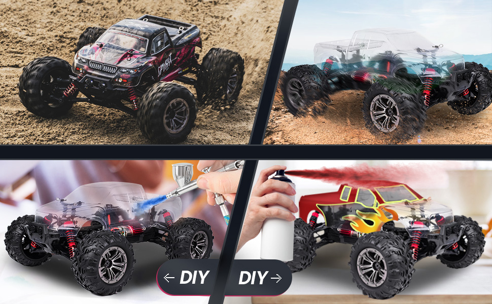 2b2d944e 5a3c 4590 b3a4 e0939ef22896.  CR0,0,970,600 PT0 SX970 V1    - Hobby RC Cars,FLYHAL 9135 Pro Remote Control Car RC Cars for Adults 30+MPH 45km/h 4WD Professional IPX4 Waterproof 1:16 Scale Super Fast RC Cars Moster RC Trucks 4x4 Off Road 2 Batteries
