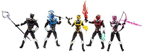 31M3xDpU6zL. AC  - Power Rangers Lightning Collection 6-Inch in Space Psycho Rangers 5-Pack Premium Collectible Action Figure Toys with Accessories (Amazon Exclusive)