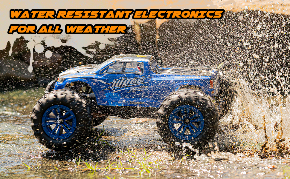 31bff3c3 7321 4ff2 9639 93e586c86e87.  CR0,0,970,600 PT0 SX970 V1    - Soyee RC Cars 1:10 Scale RTR 46km/h High Speed Remote Control Car All Terrain Hobby Grade 4WD Off-Road Waterproof Monster Truck Electric Toys for Kids and Adults -1600mAh Batteries x2