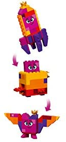 31cGP5M7RrL. AC  - LEGO The Movie 2 Queen Watevra's Build Whatever Box! 70825 Pretend Play Toy and Creative Building Kit for Girls and Boys (455 Pieces) (Discontinued by Manufacturer)