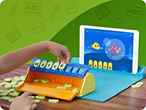 33969bf8 7803 4d14 9d3c 3e6bbb0fca3b.  CR0,0,1200,900 PT0 SX300 V1    - Plugo Letters by PlayShifu - Word Building with Phonics, Stories, Puzzles   5-10 Years Educational STEM Toy   Interactive Vocabulary Games   Boys & Girls Gift (App Based)