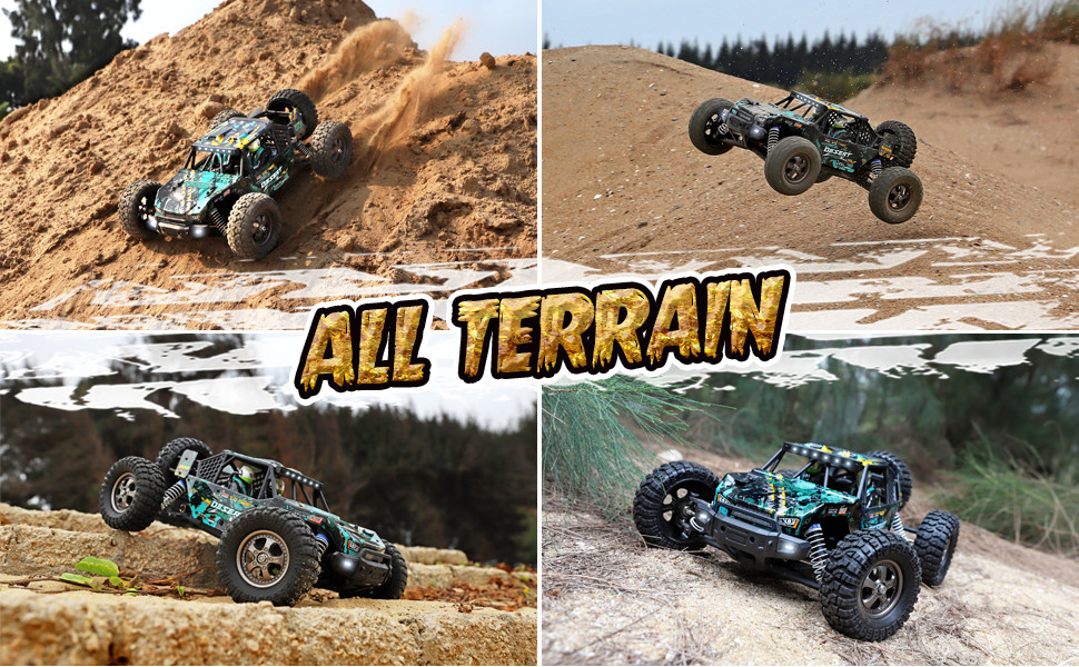 3513507c bc0f 42d8 ac1c ccc801acb52e.  CR0,0,970,600 PT0 SX970 V1    - Remote Control Car 1:12 Scale High Speed RC Cars 42KM/H 4X4 Off-Road Trucks 2995, All Terrain Electric Powered RC Vehicle RTR Hobby Grade 40+ Min Play, Remote Control Toy Trucks for Boys and Adults