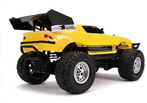 411RhQ1m0bL. AC  - Jada Toys Transformers Bumblebee 1977 Chevy Camaro Elite Off Road 4x4 RC