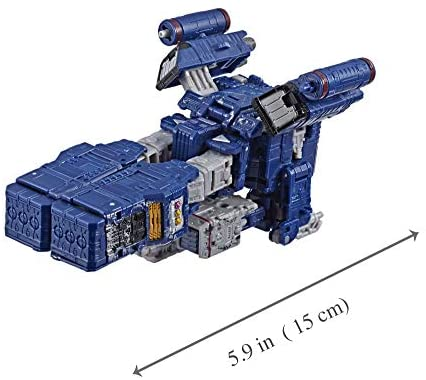 411b9DjcW L. AC  - Transformers Toys Generations War for Cybertron Voyager Wfc-S25 Soundwave Action Figure - Siege Chapter - Adults & Kids Ages 8 & Up, 7""