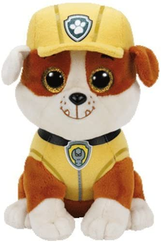 4120Mw1POXL. AC  - Ty Paw Patrol Beanie Babies - Set of 6! Marshall, Chase, Skye, Rocky, Rubble and Zuma!