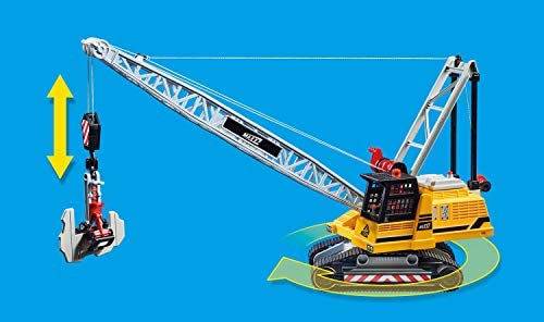 4124GKkT52L. AC  - Playmobil Cable Excavator with Building Section