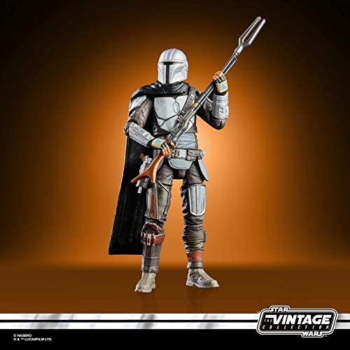 412SYFx8FlL. AC  - STAR WARS The Vintage Collection The Mandalorian Toy, 3.75-Inch-Scale The Mandalorian Action Figure, Toys for Kids Ages 4 and Up