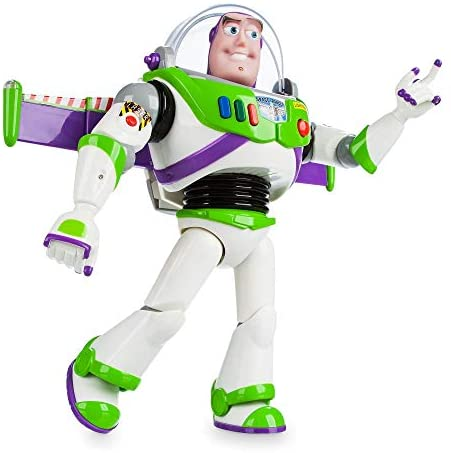 412icB8PyYL. AC  - Disney Buzz Lightyear Interactive Talking Action Figure - 12 Inches