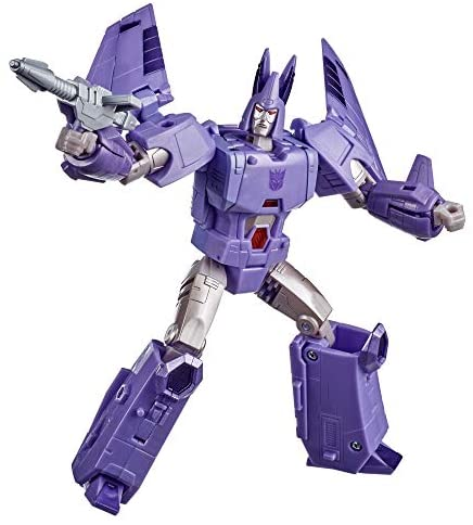 413dwmueYcL. AC  - Transformers Toys Generations War for Cybertron: Kingdom Voyager WFC-K9 Cyclonus Action Figure - Kids Ages 8 and Up, 7-inch