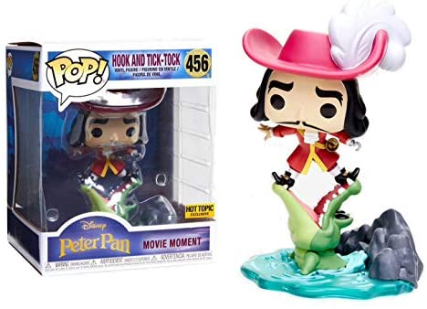 415luZf4C9L. AC  - Funko Pop Disney Treasures Villians Boxed Set Movie Moment Peter Pan Hook And Tick-Tock #456,Pocket Pop! Diablo & Mini Wicked Queen Witch