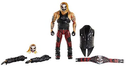 418ULqeUgyL. AC  - WWE Ultimate Edition Wave 7 The Fiend Bray Wyatt Action Figure 6 in with Interchangeable Entrance JacketLanternExtra Head and Swappable Hands for Ages 8 Years Old and Up