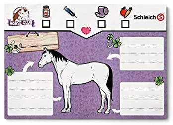 41CslwaK1VL. AC  - Schleich Horse Club, 17-Piece Playset, Horse Toys for Girls and Boys 5-12 years old Mobile Vet