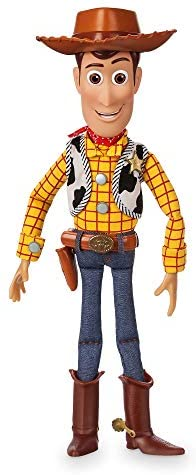 41HQo2RatqL. AC  - Disney Woody Interactive Talking Action Figure - Toy Story 4 - 15 Inches