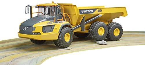 41Hd3x2posL. AC  - Bruder 02455 Volvo A60H Articulated Hauler Vehicles - Toys