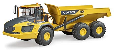 41IxOd6Zo7L. AC  - Bruder 02455 Volvo A60H Articulated Hauler Vehicles - Toys