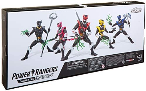 41MZuexuf8L. AC  - Power Rangers Lightning Collection 6-Inch in Space Psycho Rangers 5-Pack Premium Collectible Action Figure Toys with Accessories (Amazon Exclusive)
