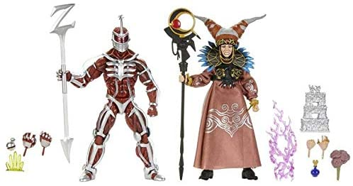 41NwCNLVXvL. AC  - PR Power Rangers Lord Zedd and Rita Repulsa Lightning Collection Action Figure 2 Pack