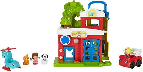 41QcI51RgIL. AC  - Fisher-Price Little People Animal Rescue