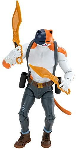 41S9qGfnfQL. AC  - Fortnite Legendary Series Brawlers, 1 Figure Pack - 7 Inch Meowscles Action Figure, Plus Accessories