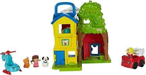 41YUtwuxAKL. AC  - Fisher-Price Little People Animal Rescue