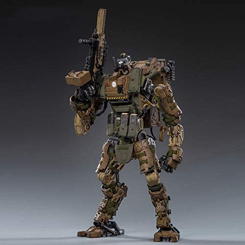 41aIpxyuDCL. AC  - JOYTOY 1/18 Action Figures 09th Legion-Fear(Assault) Armor Anime Figure Collection Model Dark Source Toys (Brown)
