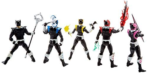 41d0u cUpmL. AC  - Power Rangers Lightning Collection 6-Inch in Space Psycho Rangers 5-Pack Premium Collectible Action Figure Toys with Accessories (Amazon Exclusive)