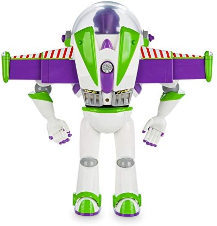 41eEWDA5OBL. AC  - Disney Buzz Lightyear Interactive Talking Action Figure - 12 Inches