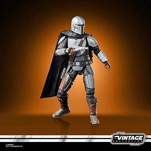 41eRTEd6EqL. AC  - STAR WARS The Vintage Collection The Mandalorian Toy, 3.75-Inch-Scale The Mandalorian Action Figure, Toys for Kids Ages 4 and Up
