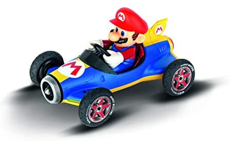 41fY HchUiL. AC  - Carrera 181066 RC Official Licensed Kart Mach 8 Mario 1: 18 Scale 2.4 Ghz Remote Radio Control Car with Rechargeable Lifepo4 Battery - Kids Toys Boys/Girls