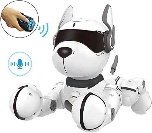 41ffubaXnvL. AC  - Remote Control Robot Dog Toy, Robots for Kids, Rc Dog Robot Toys for Kids 3,4,5,6,7,8,9,10 Year Old and up, Smart & Dancing Robot Toy, Imitates Animals Mini Pet Dog Robot…