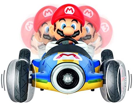 41g ViDpPLL. AC  - Carrera 181066 RC Official Licensed Kart Mach 8 Mario 1: 18 Scale 2.4 Ghz Remote Radio Control Car with Rechargeable Lifepo4 Battery - Kids Toys Boys/Girls