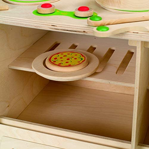 41h0QnYwZUL. AC  - Hape My Creative Cookery Club Kid's Wooden Play Kitchen
