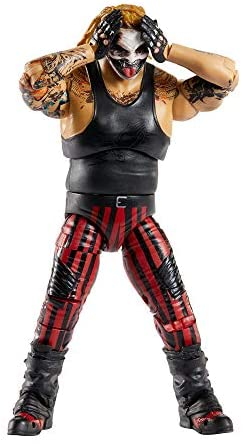 41iJyDeQWzL. AC  - WWE Ultimate Edition Wave 7 The Fiend Bray Wyatt Action Figure 6 in with Interchangeable Entrance JacketLanternExtra Head and Swappable Hands for Ages 8 Years Old and Up