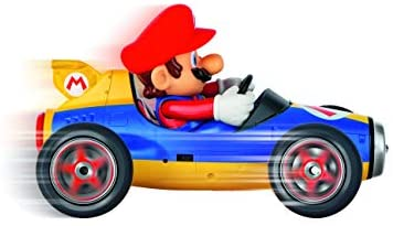 41iymfJH9lL. AC  - Carrera 181066 RC Official Licensed Kart Mach 8 Mario 1: 18 Scale 2.4 Ghz Remote Radio Control Car with Rechargeable Lifepo4 Battery - Kids Toys Boys/Girls