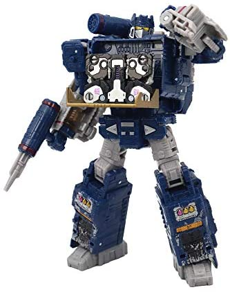 41jopjfC2LL. AC  - Transformers Toys Generations War for Cybertron Voyager Wfc-S25 Soundwave Action Figure - Siege Chapter - Adults & Kids Ages 8 & Up, 7""
