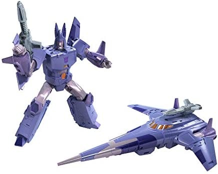 41kViNUqBOL. AC  - Transformers Toys Generations War for Cybertron: Kingdom Voyager WFC-K9 Cyclonus Action Figure - Kids Ages 8 and Up, 7-inch