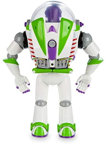 41lP92HDDuL. AC  - Disney Buzz Lightyear Interactive Talking Action Figure - 12 Inches