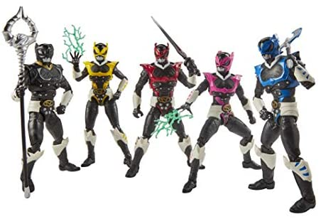 41loopRtGML. AC  - Power Rangers Lightning Collection 6-Inch in Space Psycho Rangers 5-Pack Premium Collectible Action Figure Toys with Accessories (Amazon Exclusive)