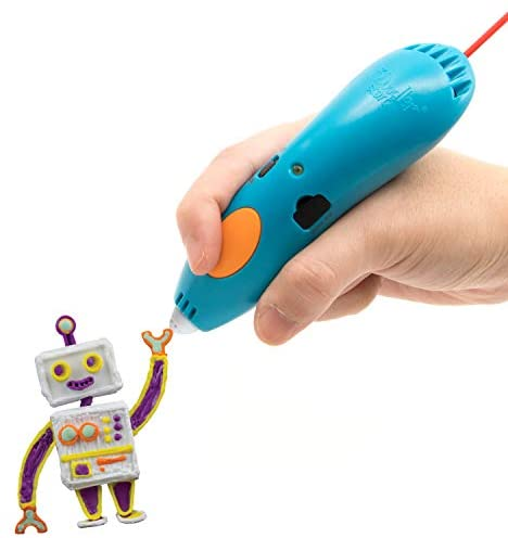 41nbjJbKsFL. AC  - 3Doodler Start Essentials (2020) 3D Pen Set for Kids, Easy to Use, Learn from Home Art Activity Set, Educational STEM Toy for Boys & Girls Ages 6+ (Amazon Exclusive)