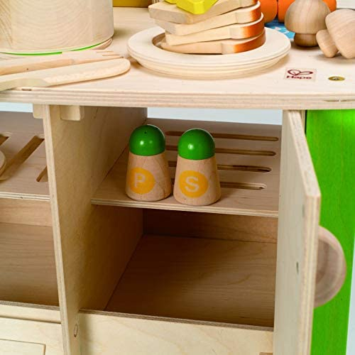 41o9C5Hy5vL. AC  - Hape My Creative Cookery Club Kid's Wooden Play Kitchen