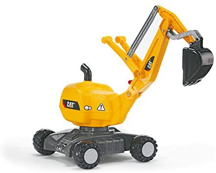 41oAj Zb6ML. AC  - rolly toys CAT Construction Ride-On: 360-Degree Excavator/Shovel Digger, Youth Ages 3+