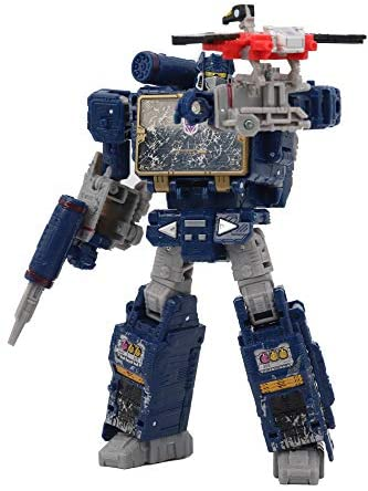 41pK5p5IAjL. AC  - Transformers Toys Generations War for Cybertron Voyager Wfc-S25 Soundwave Action Figure - Siege Chapter - Adults & Kids Ages 8 & Up, 7""