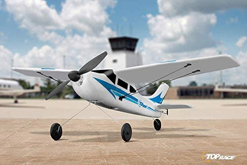 41s3BFEOHBL. AC  - Top Race Rc Plane 3 Channel Remote Control Airplane Ready to Fly Rc Planes for Adults, Easy & Ready to Fly, Great Gift Toy for Adults or Advanced Kids, Upgraded with Propeller Saver (TR-C285G)