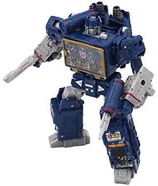 41suvWo+LGL. AC  - Transformers Toys Generations War for Cybertron Voyager Wfc-S25 Soundwave Action Figure - Siege Chapter - Adults & Kids Ages 8 & Up, 7""