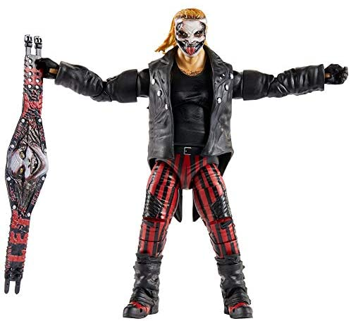 41w6cBF1PZL. AC  - WWE Ultimate Edition Wave 7 The Fiend Bray Wyatt Action Figure 6 in with Interchangeable Entrance JacketLanternExtra Head and Swappable Hands for Ages 8 Years Old and Up