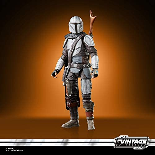 41ydwPYqP5L. AC  - STAR WARS The Vintage Collection The Mandalorian Toy, 3.75-Inch-Scale The Mandalorian Action Figure, Toys for Kids Ages 4 and Up