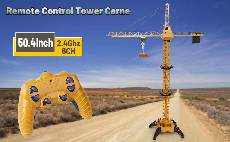 454d7862 562a 4e5c 80a1 c6928f053b61.  CR0,0,970,600 PT0 SX970 V1    - Mini Tudou RC Crane Toy,50.4 inch Tall 2.4GHz Remote Control Robotic Excavator,Educational Construction Vehicles Toy for Ages 6,7,8,9 Boys or Girls