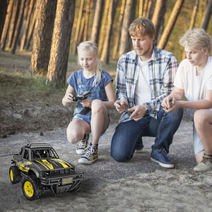 501a02fb dcee 4fd9 ad2c a691562b0afb.  CR0,0,300,300 PT0 SX300 V1    - Remote Control Jeep Dodoeleph 4X4 1:16 Large Off-Road Monster RC Trucks, 70Min Play 2.4GHz All Terrain Rock Cralwer with LED Light, High Speed Electric Vehicle Car Toy for Boys Kids